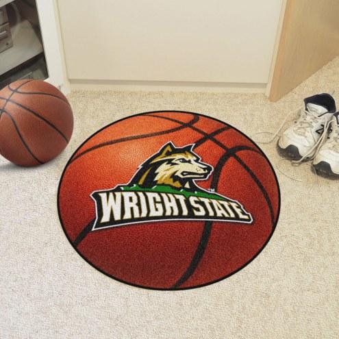 Wright State Raiders Basketball Mat