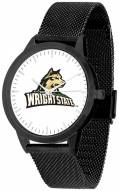 Wright State Raiders Black Mesh Statement Watch