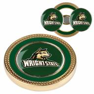Wright State Raiders Challenge Coin with 2 Ball Markers