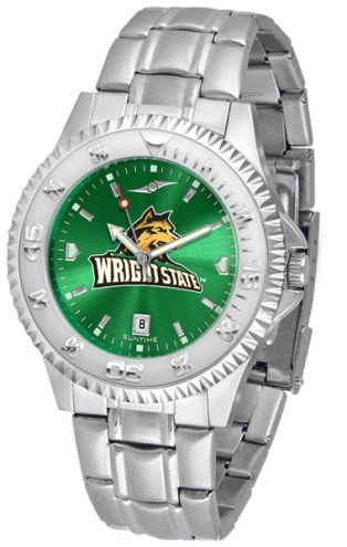Wright State Raiders Competitor Steel AnoChrome Men's Watch