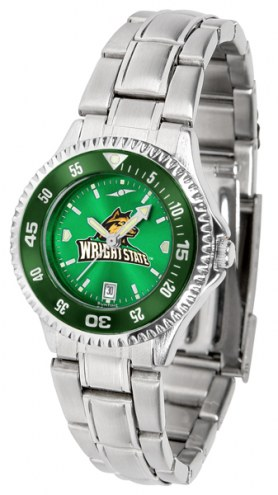 Wright State Raiders Competitor Steel AnoChrome Women's Watch - Color Bezel