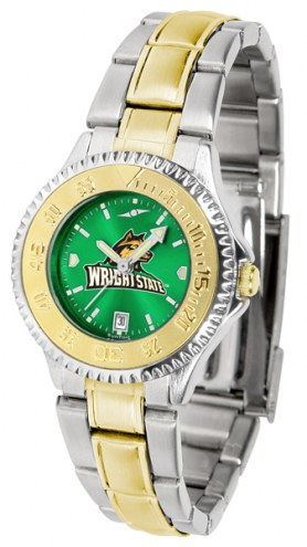 Wright State Raiders Competitor Two-Tone AnoChrome Women's Watch