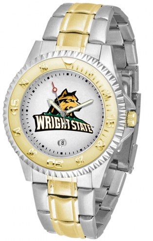 Wright State Raiders Competitor Two-Tone Men's Watch