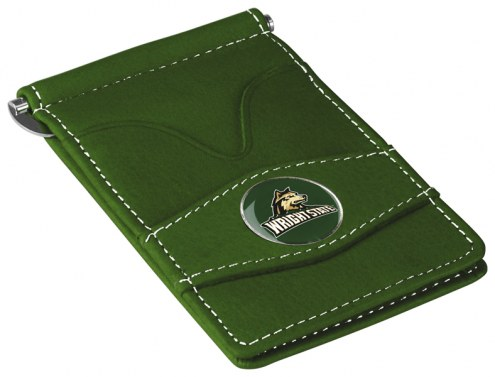 Wright State Raiders Green Player's Wallet