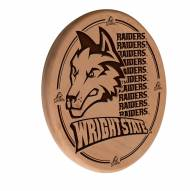 Wright State Raiders Laser Engraved Wood Sign