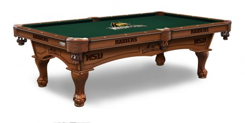 Wright State Raiders Pool Table