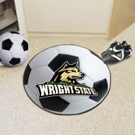 Wright State Raiders Soccer Ball Mat