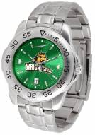Wright State Raiders Sport Steel AnoChrome Men's Watch