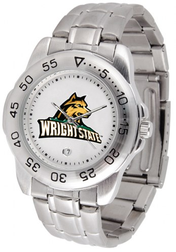 Wright State Raiders Sport Steel Men's Watch