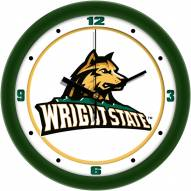 Wright State Raiders Traditional Wall Clock