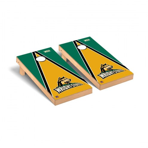 Wright State Raiders Triangle Cornhole Game Set