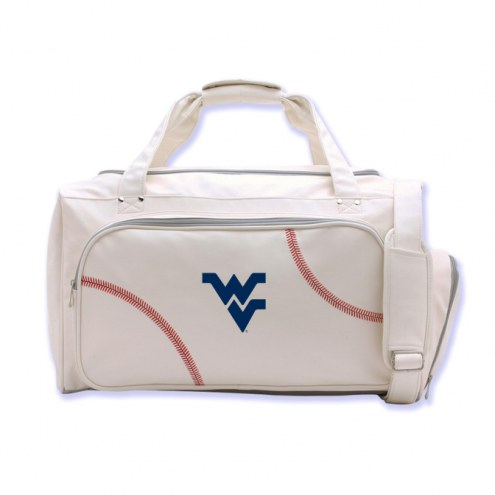WVU Mountaineers Baseball Duffel Bag