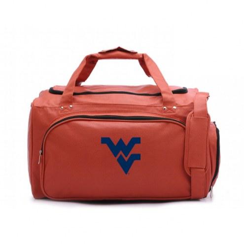 WVU Mountaineers Basketball Duffel Bag