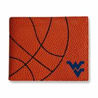 WVU Mountaineers Basketball Men's Wallet