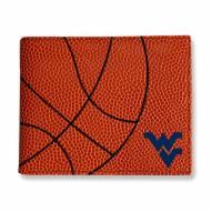 WVU Mountaineers Basketball Men's Wallet