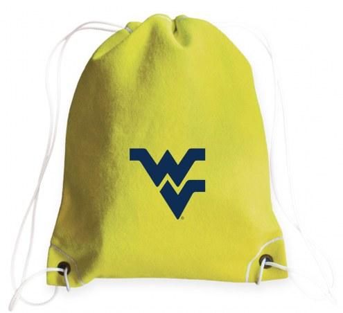 WVU Mountaineers Tennis Drawstring Bag