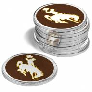 Wyoming Cowboys 12-Pack Golf Ball Markers