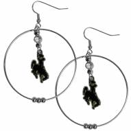 """Wyoming Cowboys 2"""" Hoop Earrings"""