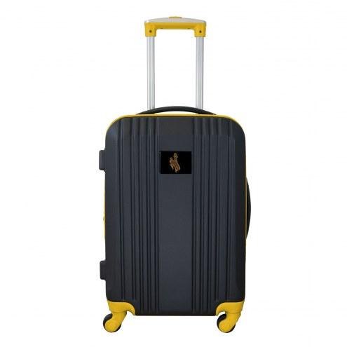"Wyoming Cowboys 21"" Hardcase Luggage Carry-on Spinner"