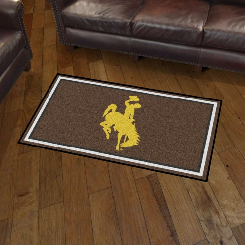 Wyoming Cowboys 3' x 5' Area Rug