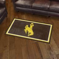 Wyoming Cowboys 3' x 5' Area Rug