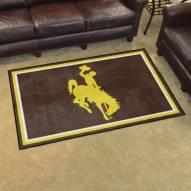 Wyoming Cowboys 4' x 6' Area Rug