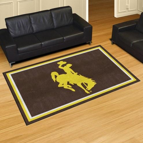 Wyoming Cowboys 5' x 8' Area Rug