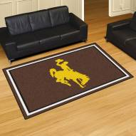 Wyoming Cowboys 5' x 8' Area Rug