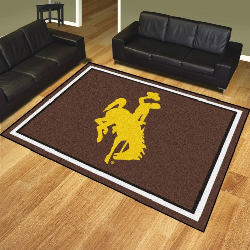 Wyoming Cowboys 8' x 10' Area Rug