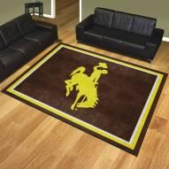 Wyoming Cowboys 8' x 10' Area Rug