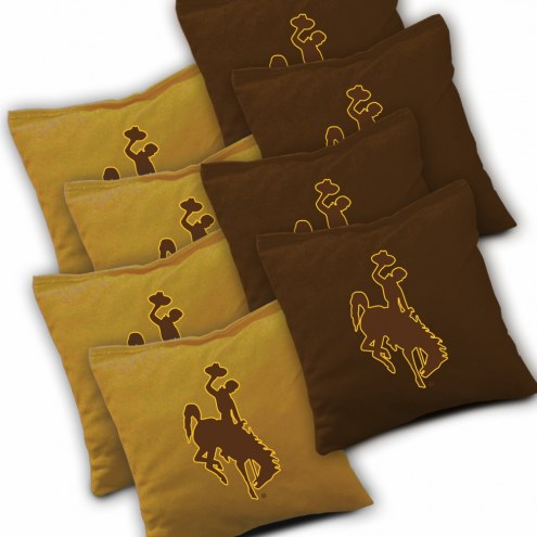 Wyoming Cowboys Cornhole Bags