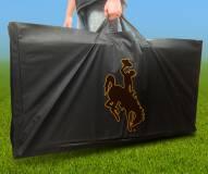 Wyoming Cowboys Cornhole Carry Case