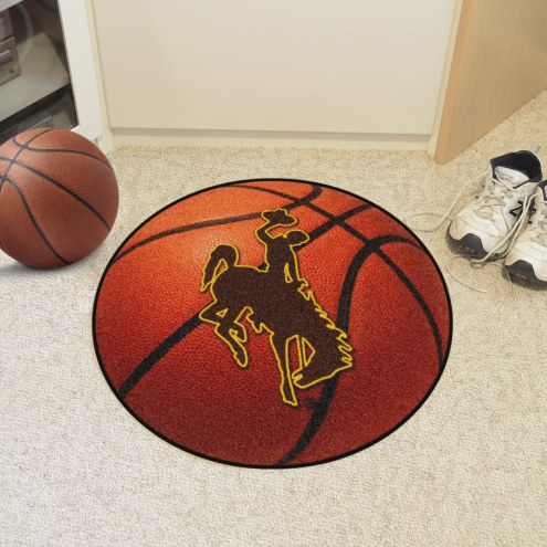 Wyoming Cowboys Basketball Mat