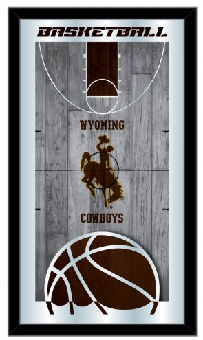 Wyoming Cowboys Basketball Mirror