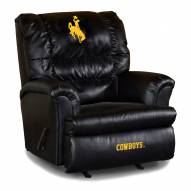 Wyoming Cowboys Big Daddy Leather Recliner