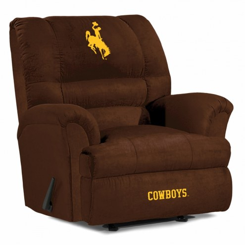 Wyoming Cowboys Big Daddy Recliner