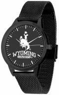 Wyoming Cowboys Black Dial Mesh Statement Watch