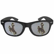 Wyoming Cowboys Black Game Day Shades
