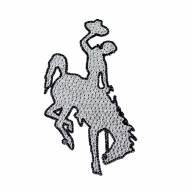 Wyoming Cowboys Bling Car Emblem