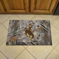 Wyoming Cowboys Camo Scraper Door Mat