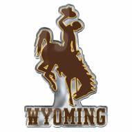 Wyoming Cowboys Color Car Emblem