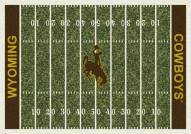 Wyoming Cowboys College Home Field Area Rug