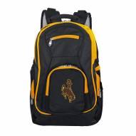 NCAA Wyoming Cowboys Colored Trim Premium Laptop Backpack