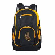 NCAA Wyoming Cowboys Colored Trim Premium Laptop Backpack