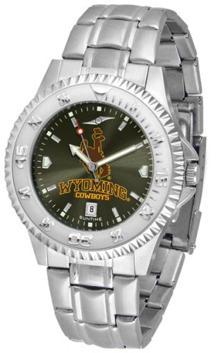 Wyoming Cowboys Competitor Steel AnoChrome Men's Watch