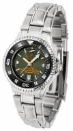 Wyoming Cowboys Competitor Steel AnoChrome Women's Watch - Color Bezel