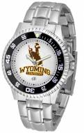 Wyoming Cowboys Competitor Steel Men's Watch