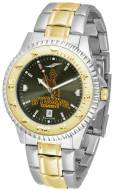 Wyoming Cowboys Competitor Two-Tone AnoChrome Men's Watch
