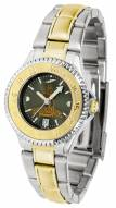 Wyoming Cowboys Competitor Two-Tone AnoChrome Women's Watch