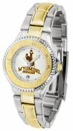 Wyoming Cowboys Competitor Two-Tone Women's Watch